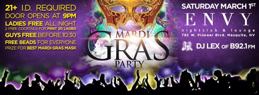 DJ LEX MARDI GRAS