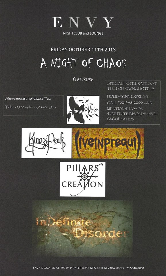 A Night of Chaos